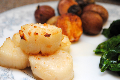 Broiled Scallops « Recipe Originals