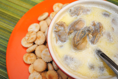 how to cook oyster stew